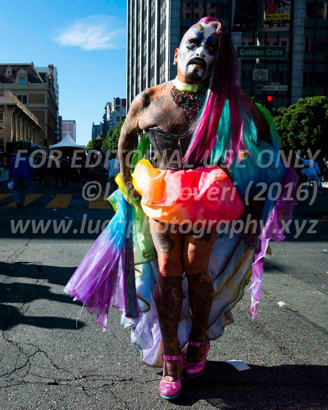 """""""Magic"""" moments at the SF Pride"""