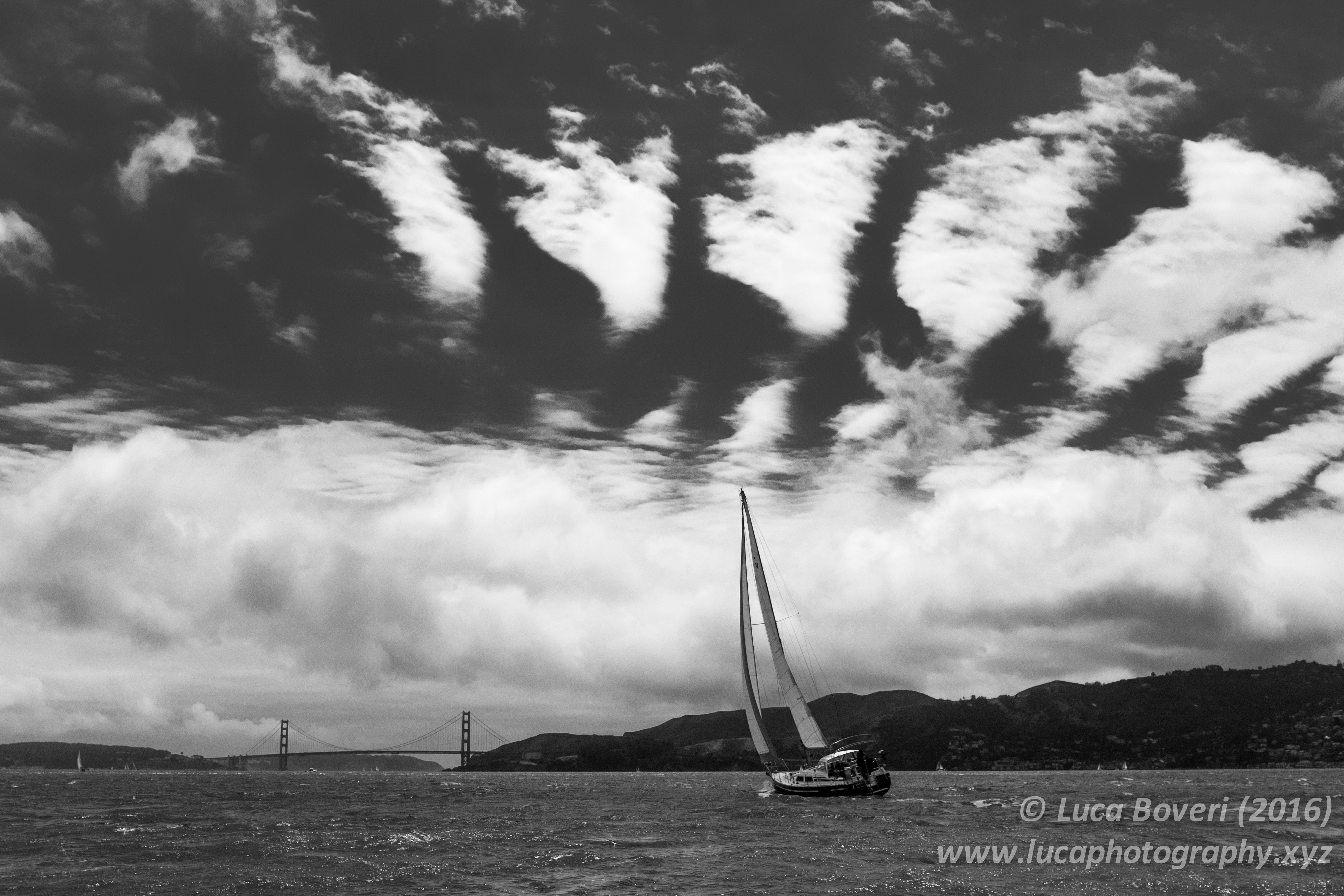 Saling the SF Bay. @lucaboveri