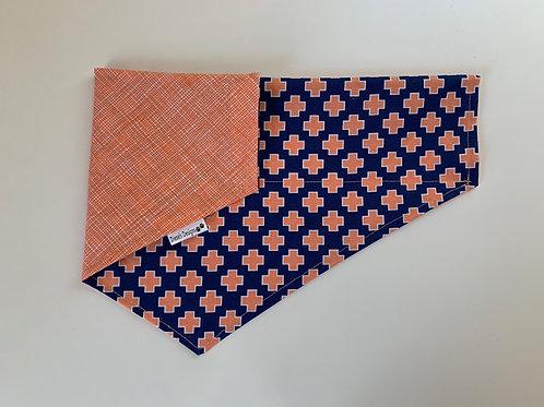 Orange Pattern Bandana