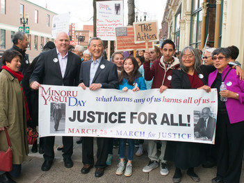 March for Justice banner