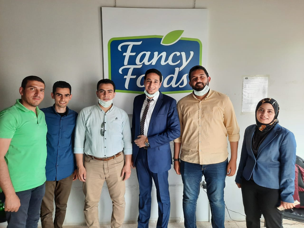 Fancy Foods and TAKAMOL team