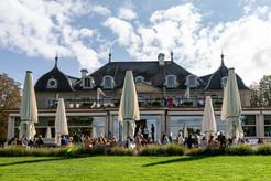 Le restaurant du Parc des Eaux-Vives qui a accueilli le cocktail de soutien du Festival du LÀC