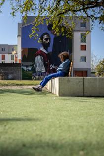 Square Maisonnat - Fontaine