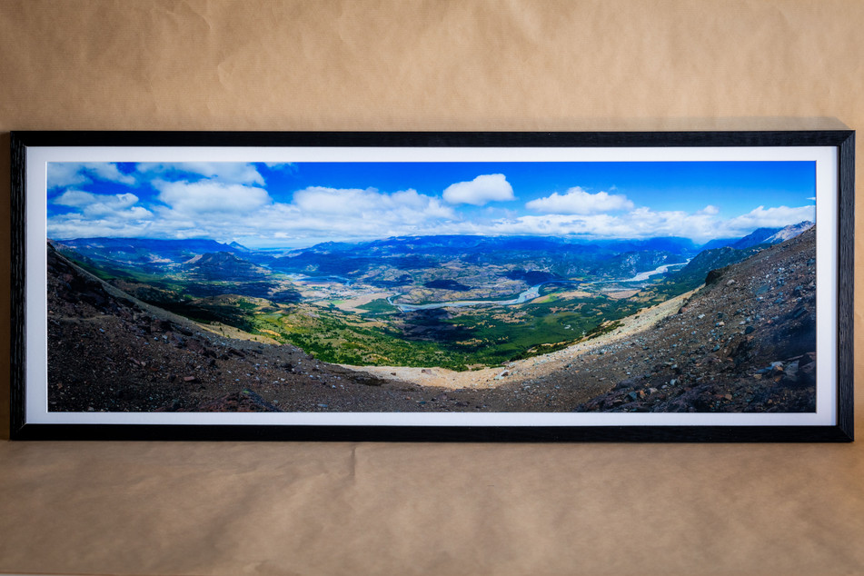 Valle General Ibanez - 33x95 - 80€