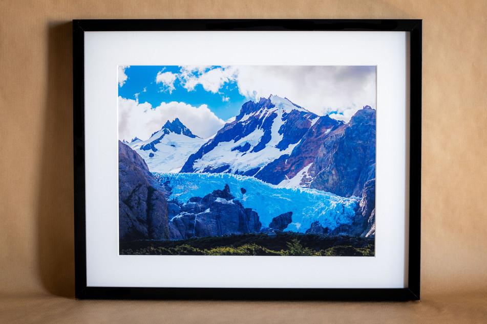 Glaciar Piedras Blancas - 40x50 - 50€