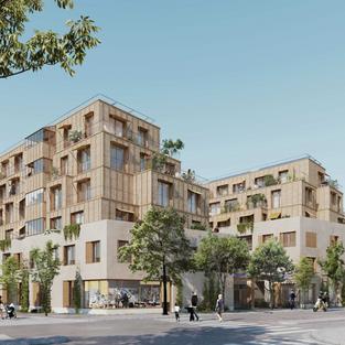 54 logements - Paris