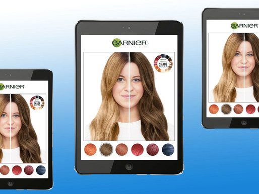 Walmart pilots Garnier's virtual hair-coloring tech in stores
