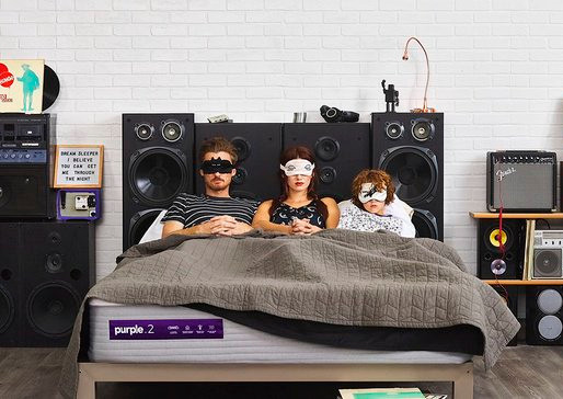 Purple Rolls Out Adjustable Pillow