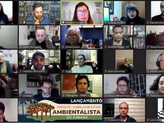 Lançamento da Frente Parlamentar Ambientalista do Paraná