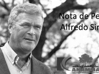 Nota de Pesar - Alfredo Sirkis