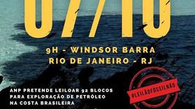 A Agência Nacional de Petróleo pretende leiloar nosso litoral nesta quinta-feira (07/10)