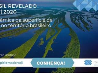 📢 Brasil Revelado 1985-2020: A dinâmica da superfície de água no território brasileiro
