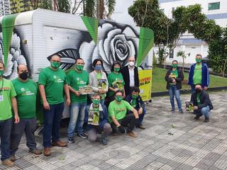"""Mogi das Cruzes inova com o Programa """"Viveiro na Rua"""""""