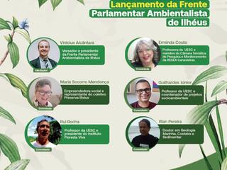 Lançamento da Frente Parlamentar em Defesa do Meio Ambiente