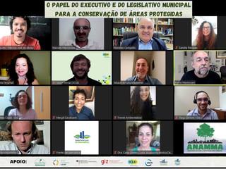✅ ANAMMA BRASIL, em parceira com ICLEI e GIZ, através do Projeto Áreas Protegidas Locais