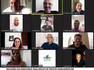 Diretoria Executiva da Frente Parlamentar Ambientalista dos Vereadores realiza reunião.