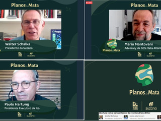 SOS MATA ATLÂNTICA E SUZANO LANÇAM O PLANOS DA MATA, COM APOIO DA IBÁ