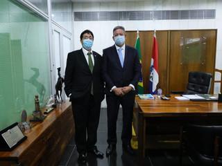 Presidente Marçal participa de audiência com o Presidente da Câmara Artur Lira