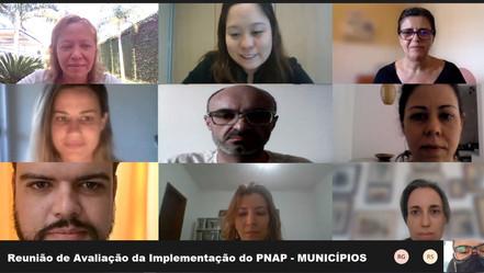 Reunião de Avaliação da Implementação do PNAP - MUNICÍPIOS