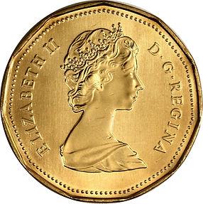 Piècede 1987Avers - 1987 Coin Obverse