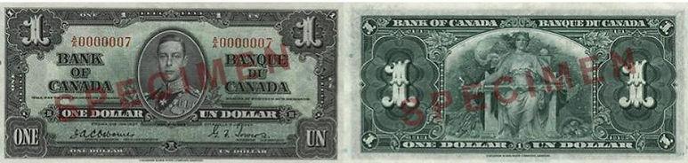 1937 1 dollar