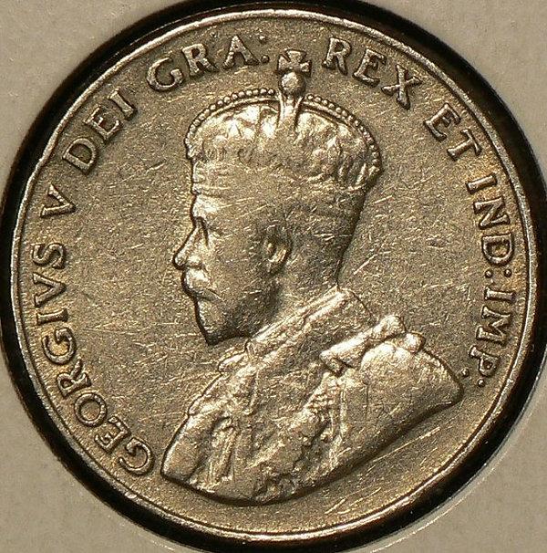 1925 Pièce de 5 cents- 5 Cents coin 1925