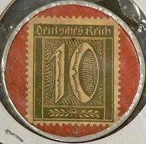 Pfenning timbre - Stamp Pfenning