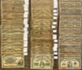 25 cents Canadiens en papier | 25 cents banknotes