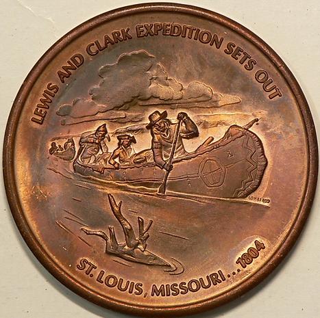 L'expédition Lewis et Clark (de 1804 à 1806) -  The Lewis and Clark Expedition (from 1804 to 1806)