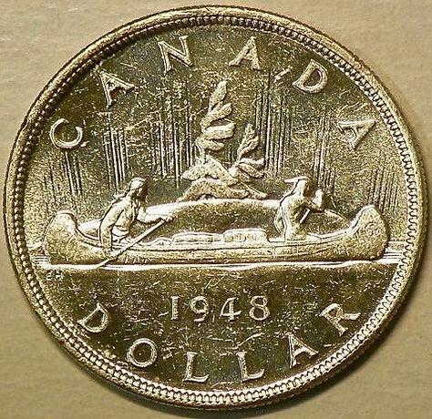 DOLLAR CANDIEN 1948 - CANADIAN DOLLAR 1948