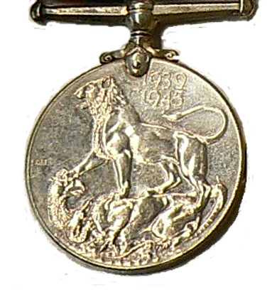 Médaille de guerre de 1939-1945 War Medal 1939-1945
