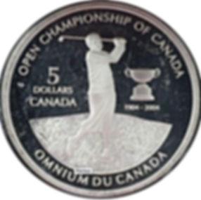 Omnium du Canada 5 dollar - Open championship of Canada 5 dollar