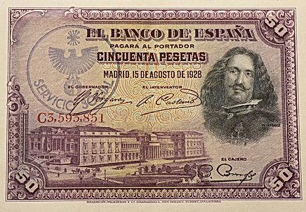 BILLETS ESPAGNOLE SPANISH BANKNOTES