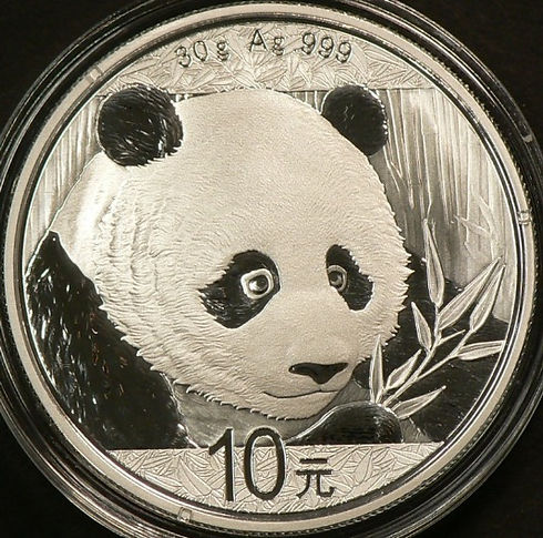 Pièces d'argent Panda Chinois - Chinese Panda Silver Coins