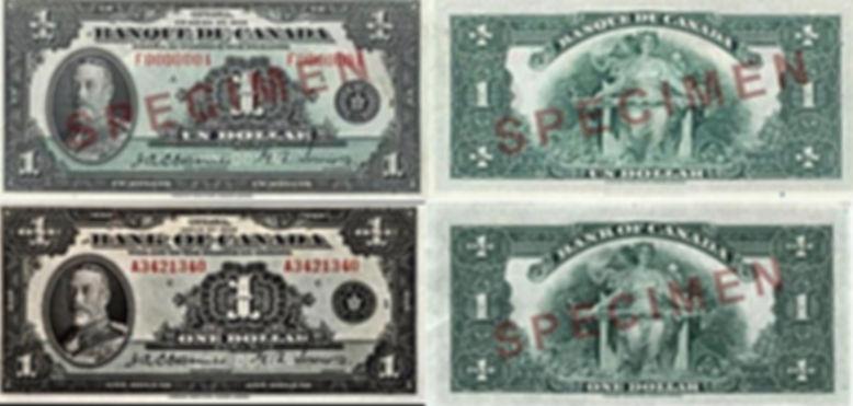 1935 1 dollar Français éAnglais