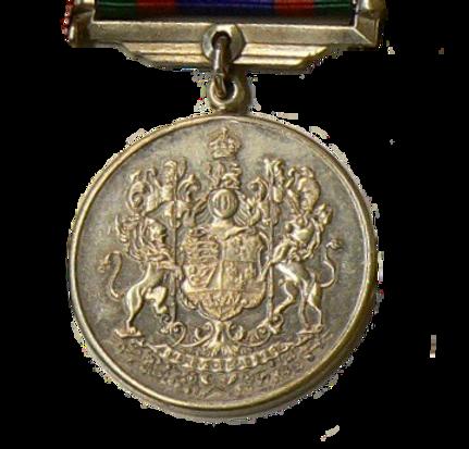 Médaille canadienne du volontaire Canadian Volunteer Service Medal