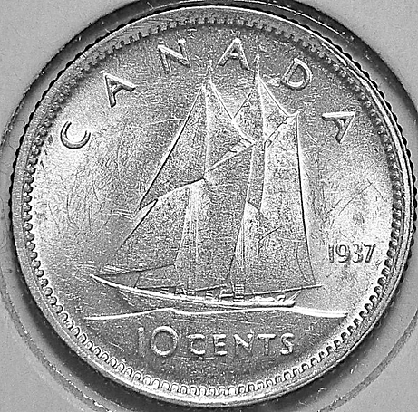 10 cents 1937