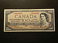 100 dollard Canadien | 100 dollard Canadian