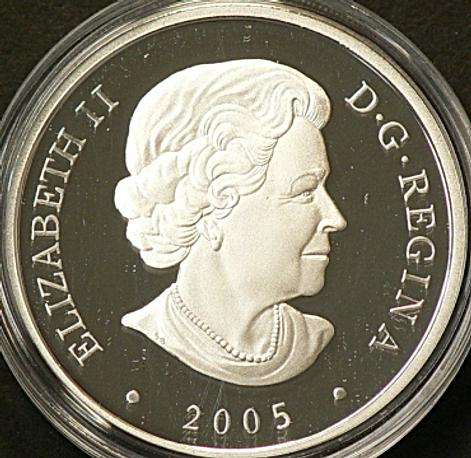 Diamant 20 dollars 2005 Avers - Diamond 20 dollars 2005 Obverse