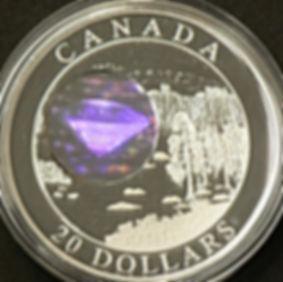 Diamant 20 dollars 2005 - Diamond 20 dollars 2005