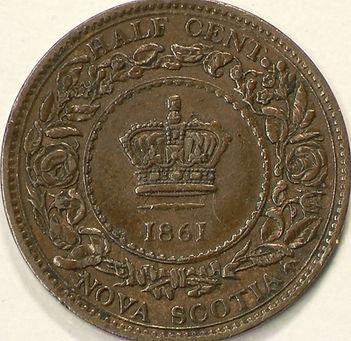 1861 NOUVELLE-ÉCOSSE 1861 NOVA SCOTIA