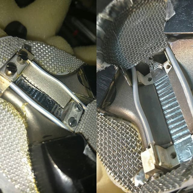 Coles 4038 repair _Before and after shot