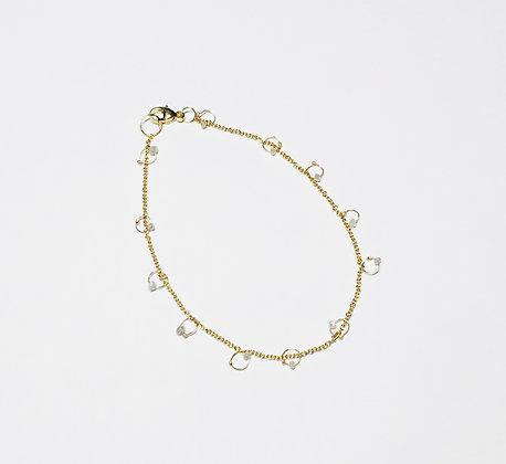 Florence gold & diamond bracelet