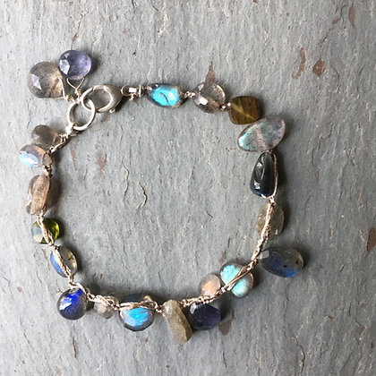 shape shifting blues bracelet