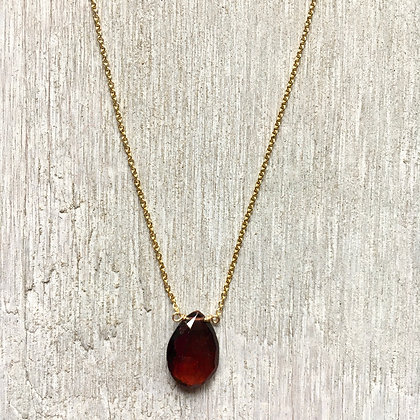 wine garnet on gold