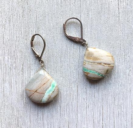 mint river earrings