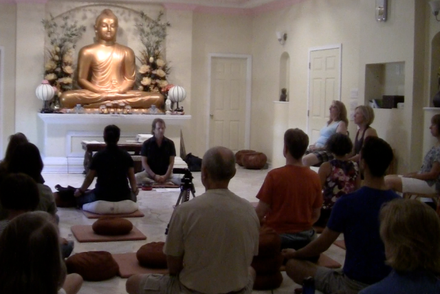 2015 Meditation Session