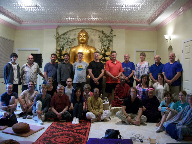Workshop at Arizona International Buddhist Meditation Center