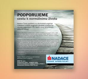 Propagace Nadace České spořitelny