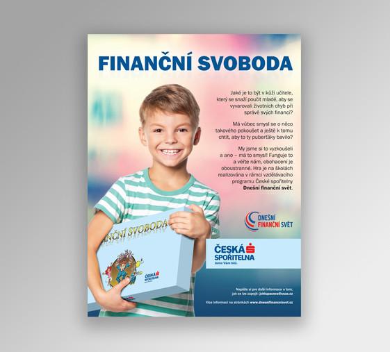 Propagace projektu Finanční svoboda
